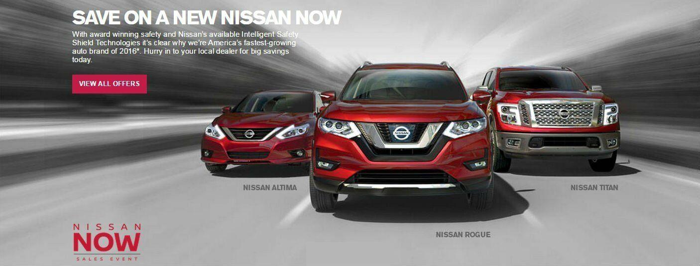 Nissan savings lease specials 2017 Altima Rogue Titan Chicago IL