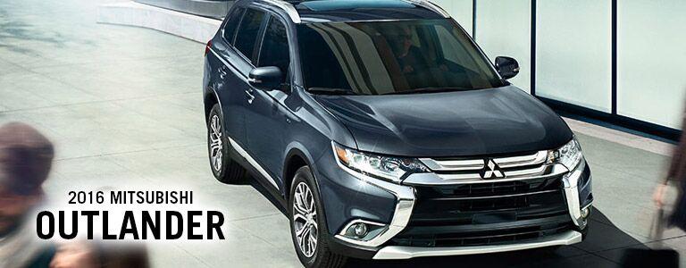 Mitsubishi Outlander exterior front