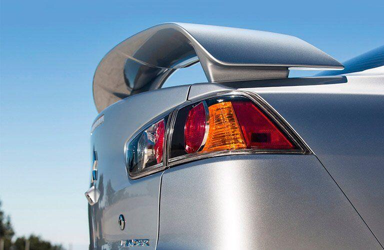 2017 Mitsubishi Lancer spoiler
