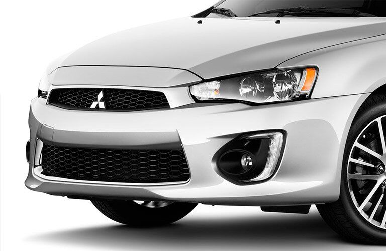 2017 Mitsubishi Lancer front fascia overview
