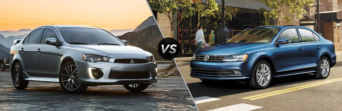 2017 Mitsubishi Lancer vs 2017 Volkswagen Jetta