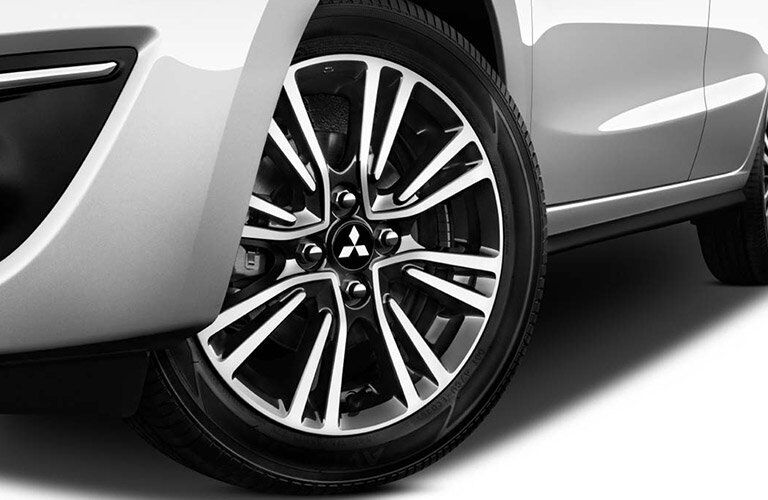 2017 Mitsubishi Mirage alloy wheels