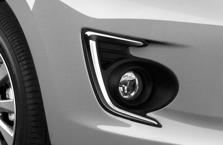 2017 Mitsubishi Mirage G4 front light