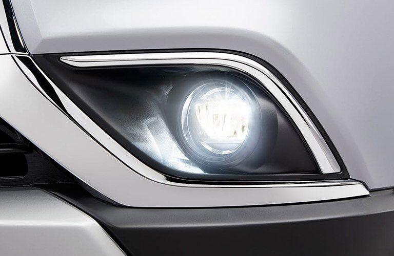 2017 Mitsubishi Outlander fog lights