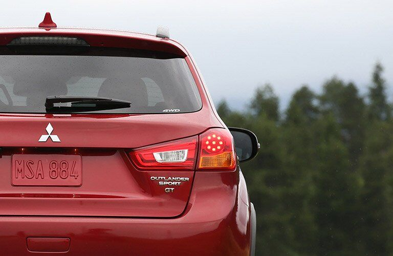 2017 Mitsubishi Outlander Sport GT red rear badging
