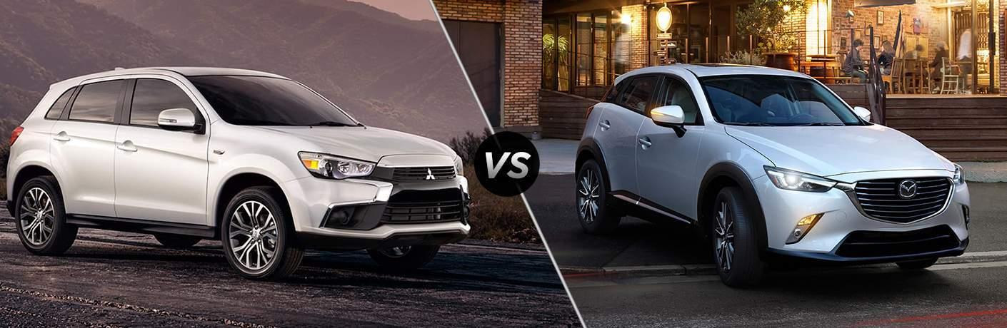 2017 Mitsubishi Outlander Sport vs 2017 Mazda CX-3