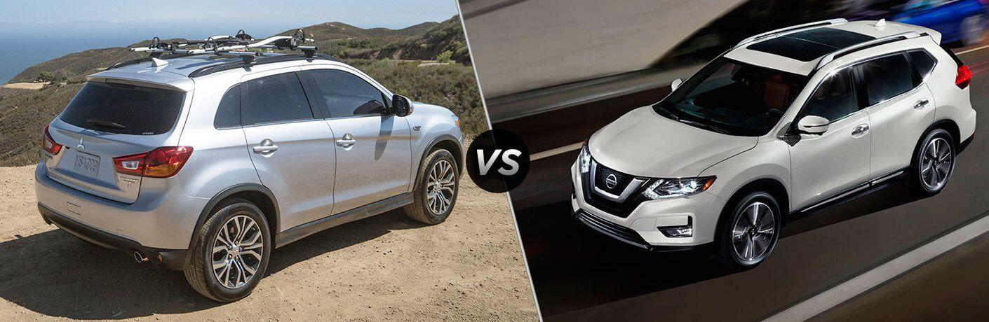 2017 Mitsubishi Outlander Sport vs 2017 Nissan Rogue