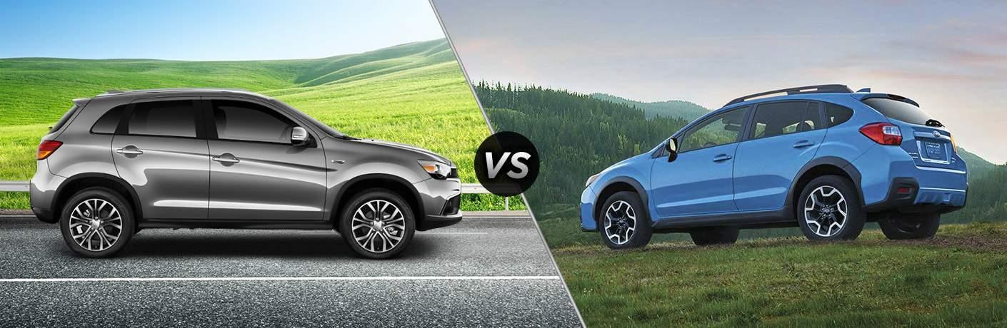 2017 Mitsubishi Outlander Sport vs 2017 Subaru Crosstrek