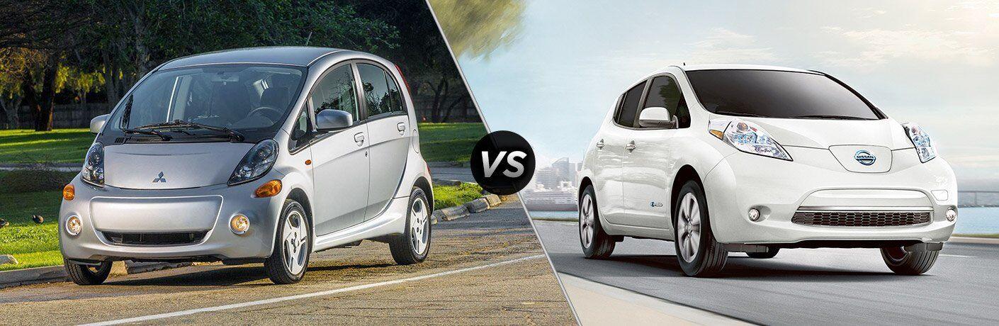 2017 Mitsubishi i-MiEV vs 2017 Nissan Leaf
