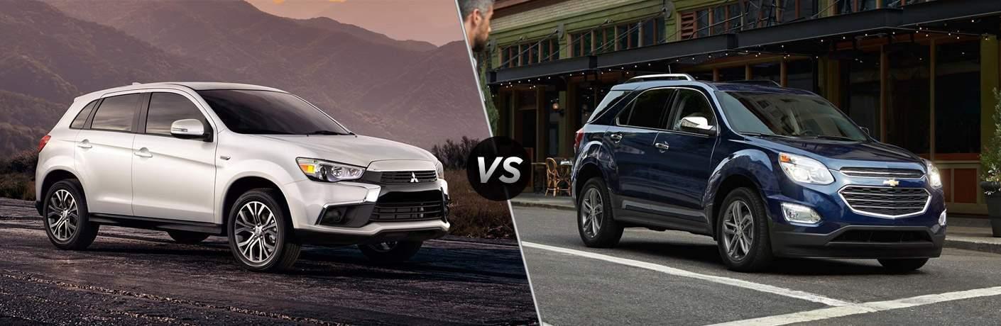 2017 Mitsubishi Outlander Sport vs 2017 Chevy Equinox