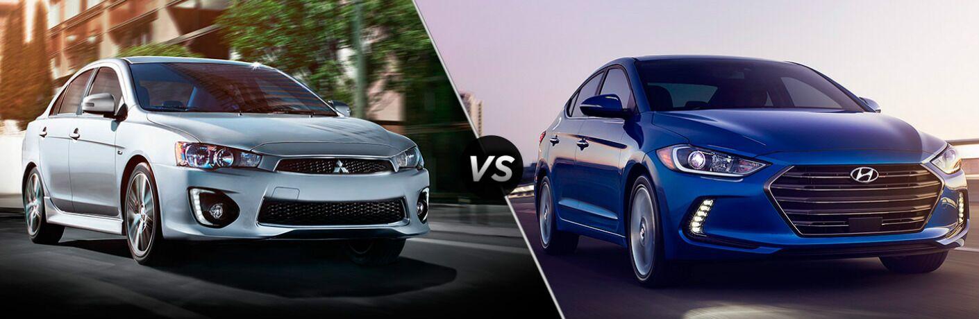 2017 Mitsubishi Lancer vs 2017 Hyundai Elantra