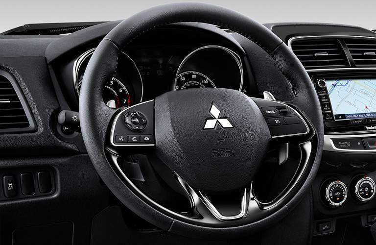 2017 Mitsubishi Outlander Sport steering wheel controls