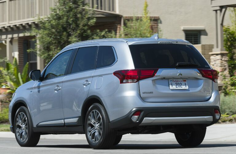 2017 Mitsubishi Outlander downtown