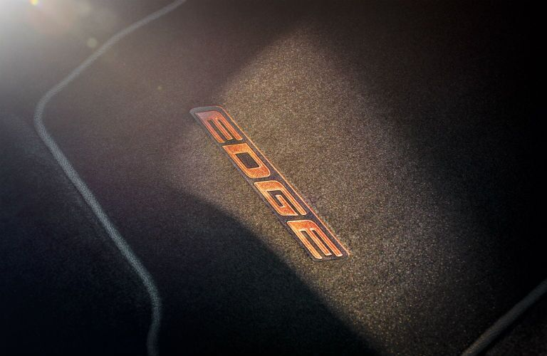 2018 Ford Edge floor mat with name stitched