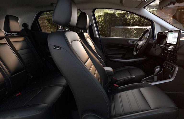 2019 Ford EcoSport front seating