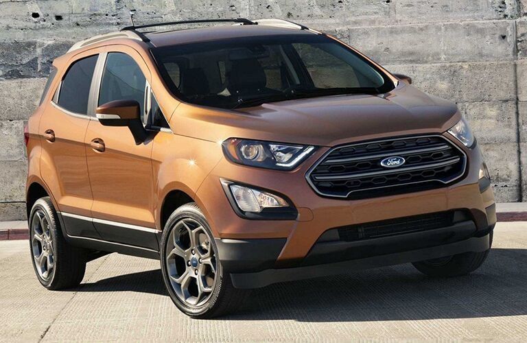 2019 Ford EcoSport in gold