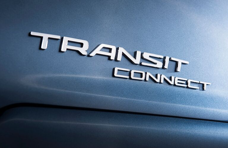 Ford Transit Connect rear name badge