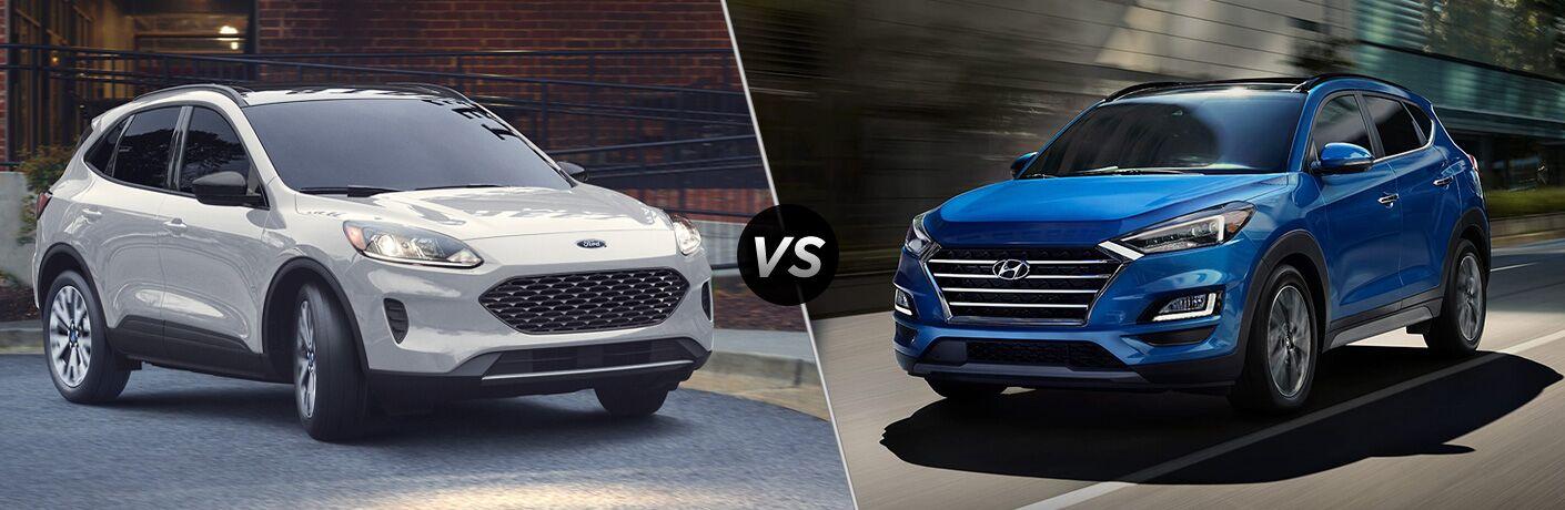 2020 Ford Escape vs 2020 Hyundai Tucson
