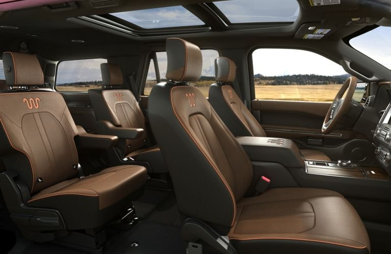 2020 Ford Expedition King Ranch interior