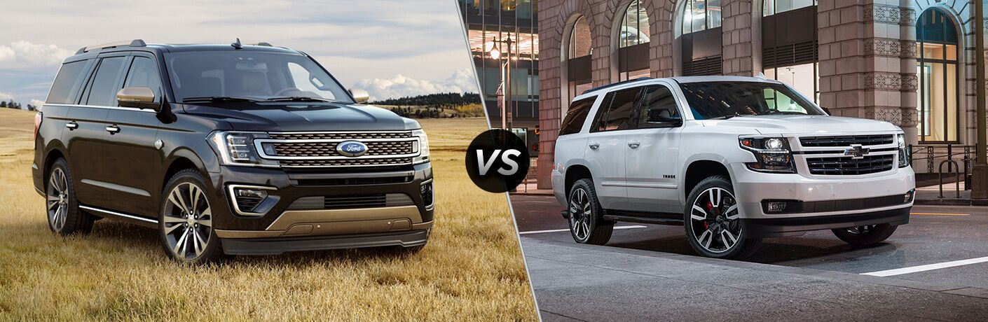 2020 Ford Expedition vs 2020 Chevrolet Tahoe
