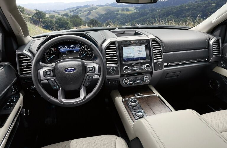 2020 Ford Expedition Dashboard overlooking scenery