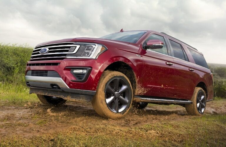 2020 Ford Expedition going mudding