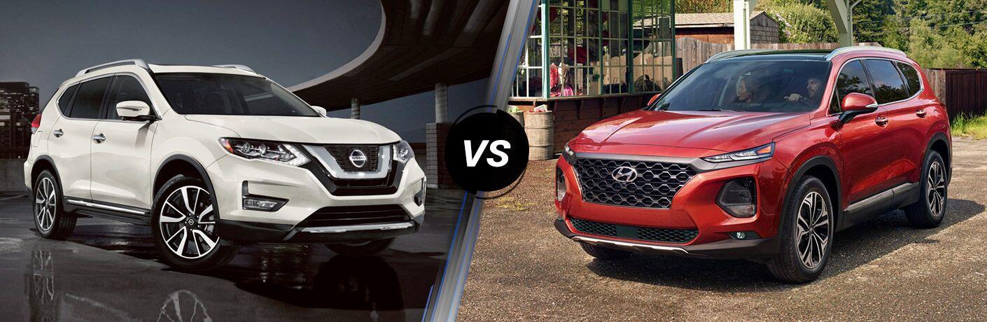2020 Nissan Rogue vs 2020 Hyundai Santa Fe