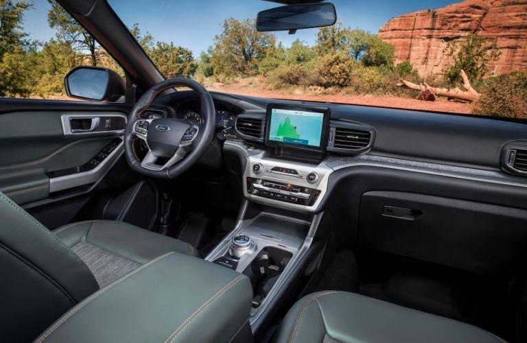 2021 Ford Explorer dashboard