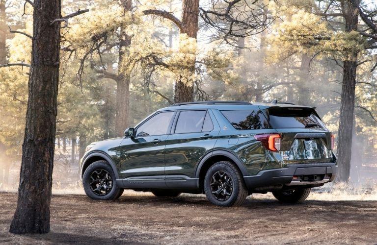 2021 Ford Explorer rear quarter view