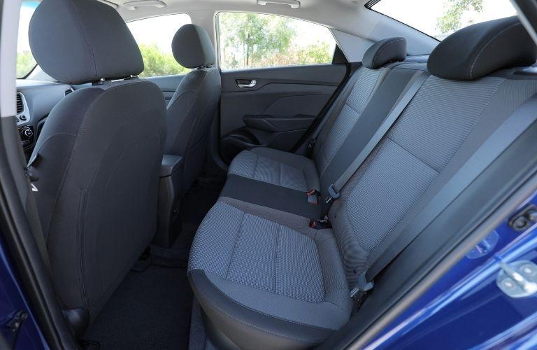 2021 Hyundai Accent seats