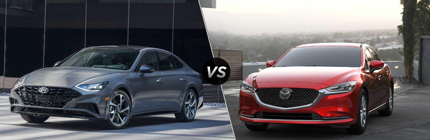 2021 Hyundai Sonata vs 2021 Mazda6