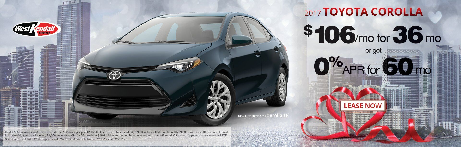 New Toyota Car Specials West Kendall Toyota Serving Miami