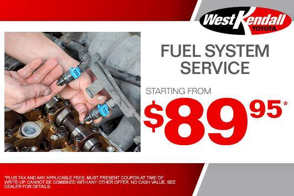 Have Your Fuel System Serviced Starting From $89.95. Only At West Kendall  Toyota In Miami, FL, Also Serving Kendall. West Kendall, The Hammocks,  Palmetto, ...