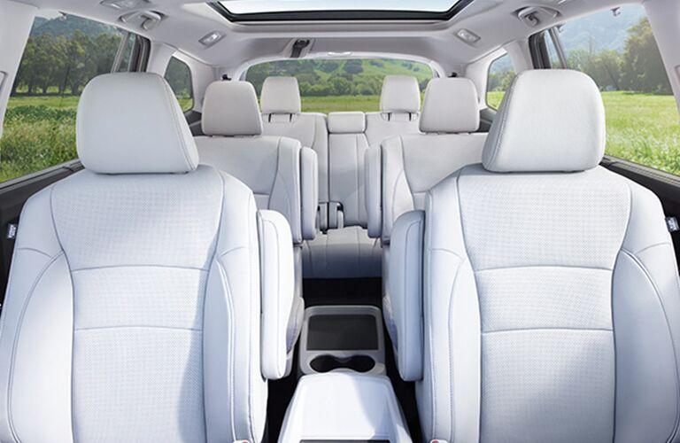 interior seating of the 2018 Honda Pilot