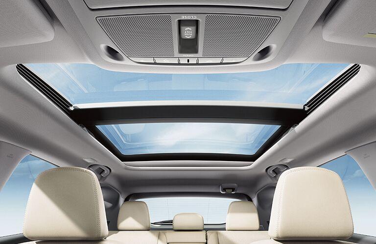 2018 Nissan Murano's sunroof