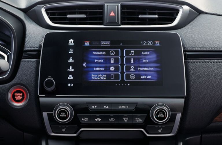 2020 Honda CR-V Hybrid touchscreen