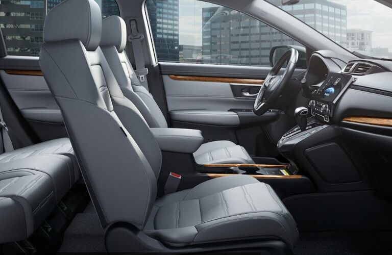 2020 Honda CR-V Hybrid front seats