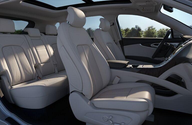 2020 Lincoln Nautilus interior seats