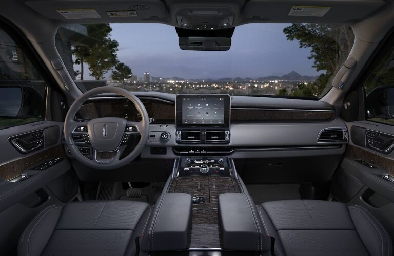 2020 Lincoln Navigator Dashboard