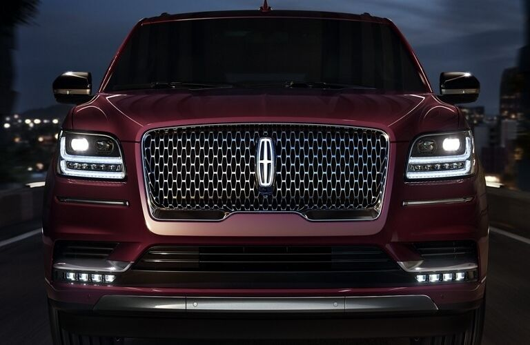 Front end of the 2020 Lincoln Navigator