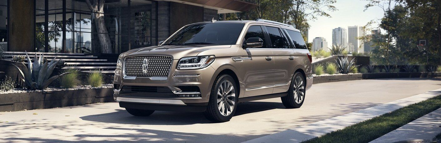 2020 Lincoln Navigator parked in front of a house