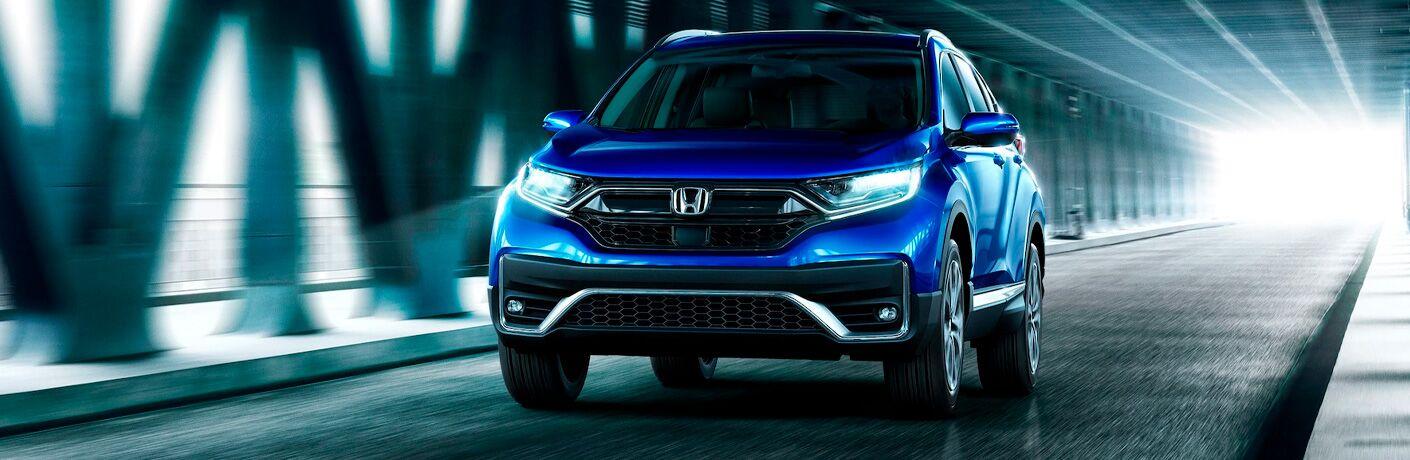 2021 Honda CR-V going down the road