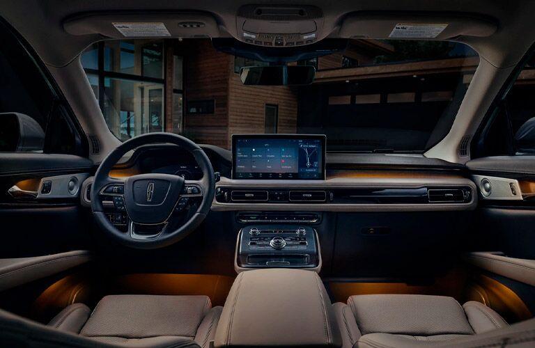 2021 Lincoln Nautilus dashboard