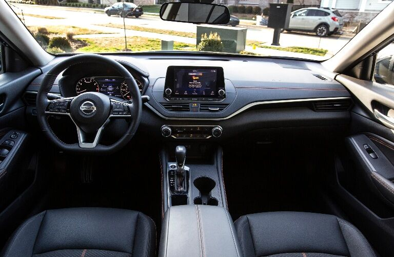 Dashboard in the 2021 Nissan Altima
