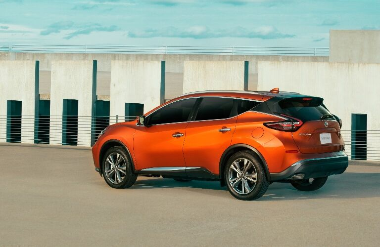 2021 Nissan Murano back end