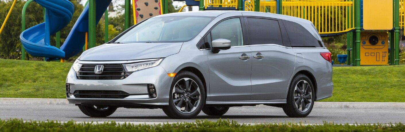 2022 Honda Odyssey Exterior Driver Side Front Profile