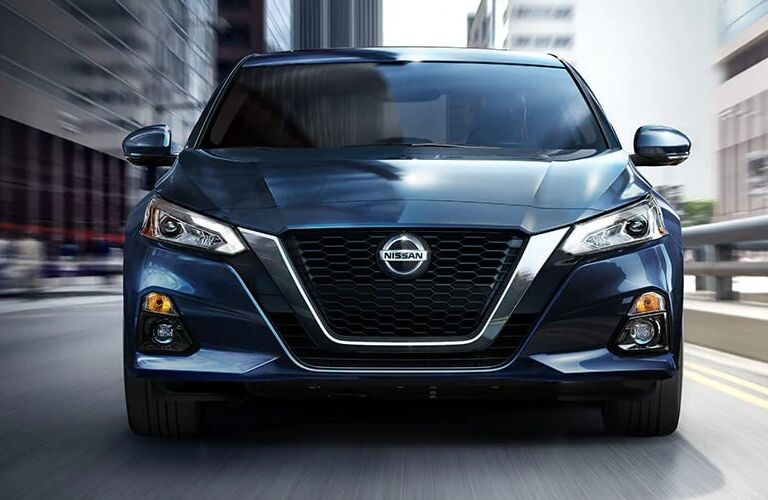 Front end of the 2021 Nissan Altima