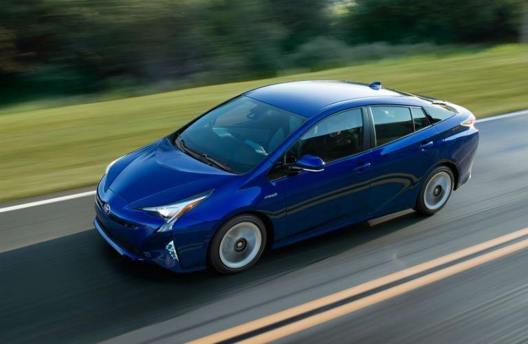 How efficient is the 2017 Prius?