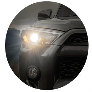4Runner high-beam headlights