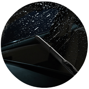 How do rain-sensing wipers work?